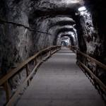 2- salina interior, treptele salinei