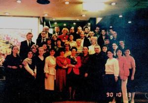 1990-Japonia-truneu cu Madrigalul-Intalnire cu marea soprana ILEANA COTRUBAS