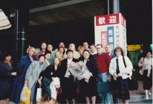 1990-Turneu Japonia cu Corul Madrigal (Arhiva MADRIGAL)