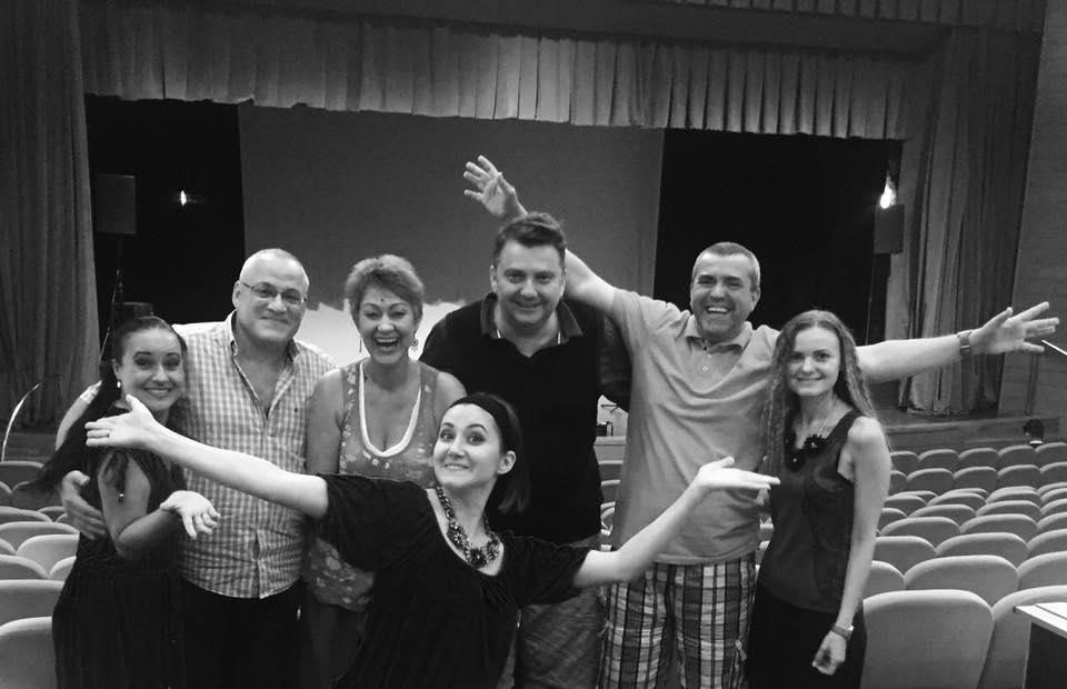 Mentori şi organizatori ai Festivalului MASTERCLASS de la Braşov 2016.