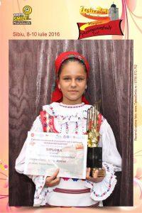 Foto Romina Suciu - Trofeu Muzica Populara Hermannstadtfest 2016 (foto Hermannstadtfest 2016 by TakeaSmile.ro)