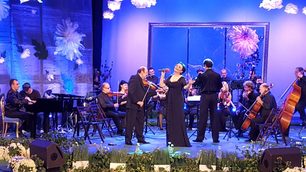Recital Alina Mavrodin Crizantema de Aur 2016 (foto Bogdan Dragomir)