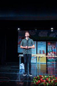 Jonathan Alexandru - recital live la Festiv. Hermannstadtfest - Sibiu 2016 (foto Bogdan Dragomir)