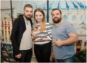 08. Ilinca si Alex Florea la Bucuresti FM - Foto. Alexandru Dolea