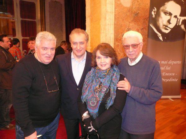 B Fugaru, V Gavrila, Margareta Paslaru, Temistocle Popa, Uniunea Compozitoriloe 2011- P1020708.600