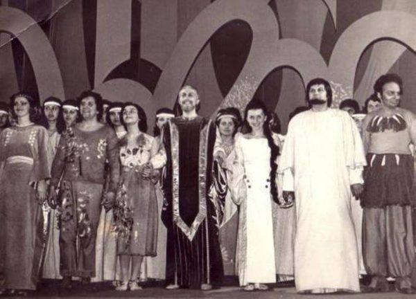 FLAUTUL FERMECAT 6 aprilie 1979 pe scena salii de opera Studio - la Conservatorul Ciprian Porumbescu din Bucuresti (facebook.com/Dumitru Lupu)