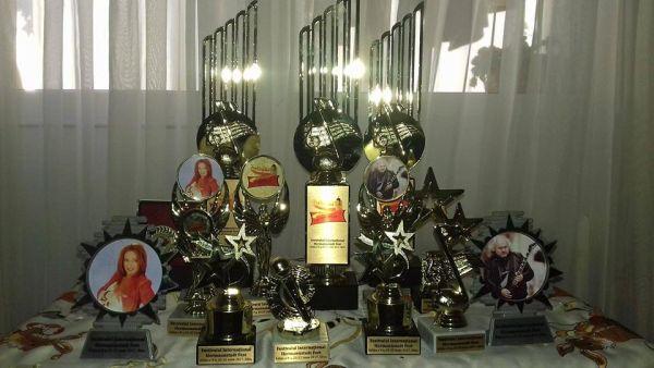 Trofeele editiei a V-a - Hermannstastfest 2017 (foto arhiva Hermannstadtfest 2017 - Facebook.com)