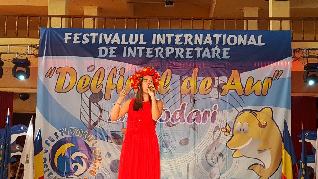 Denisa Pârvu, Călăraşi - Premiul TINERE TALENTE-Radio România Regional şi Premiul I - interpretare 2017 (foto by Bogdan Dragomir)