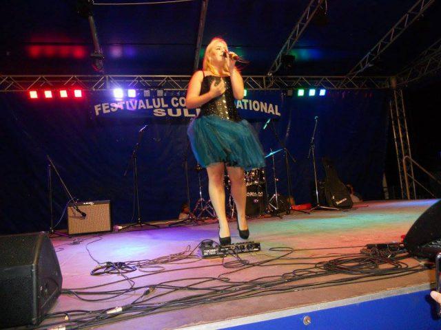 Ana Bianca Tache - Trofeul Sulina 2016 in recital (Foto by Stanel Rotaru/Facebook)