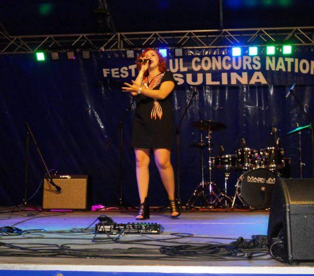 Loredana Cavasdan - Trofeul Sulina 2010 in recital (foto by Stanel Rotaru/Facebook)