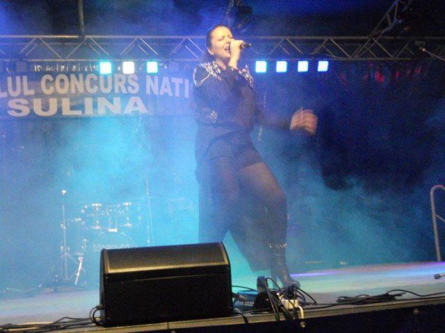 Lucia Dumitrescu - Trofeul Sulina 2005 in recital - (foto by Stanel Rotaru/Facebook)
