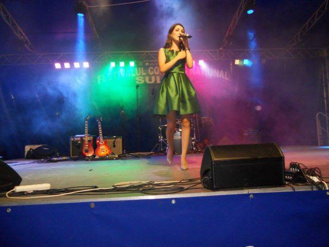 Theodora Manolache - Trofeul Sulina 2013 in recital (Foto by Stanel Rotaru/Facebook)