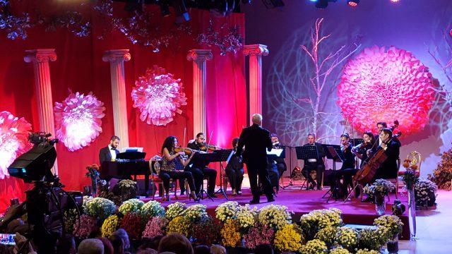"""Orchestra """"Romanţa"""" dirijată de Lucian Vlădescu la festivalul Crizantema de Aur 2017 (foto by Bogdan Dragomir)"""