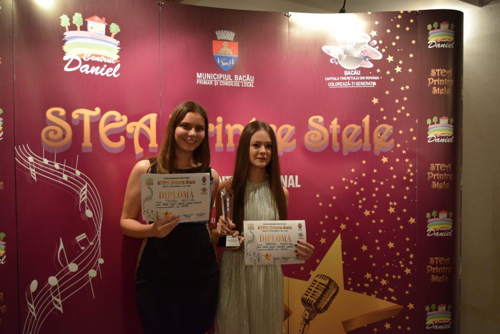 Duo Neghi Voice - Trofeul festivalului Stea Printre Stele (foto Ioana Dragomir)