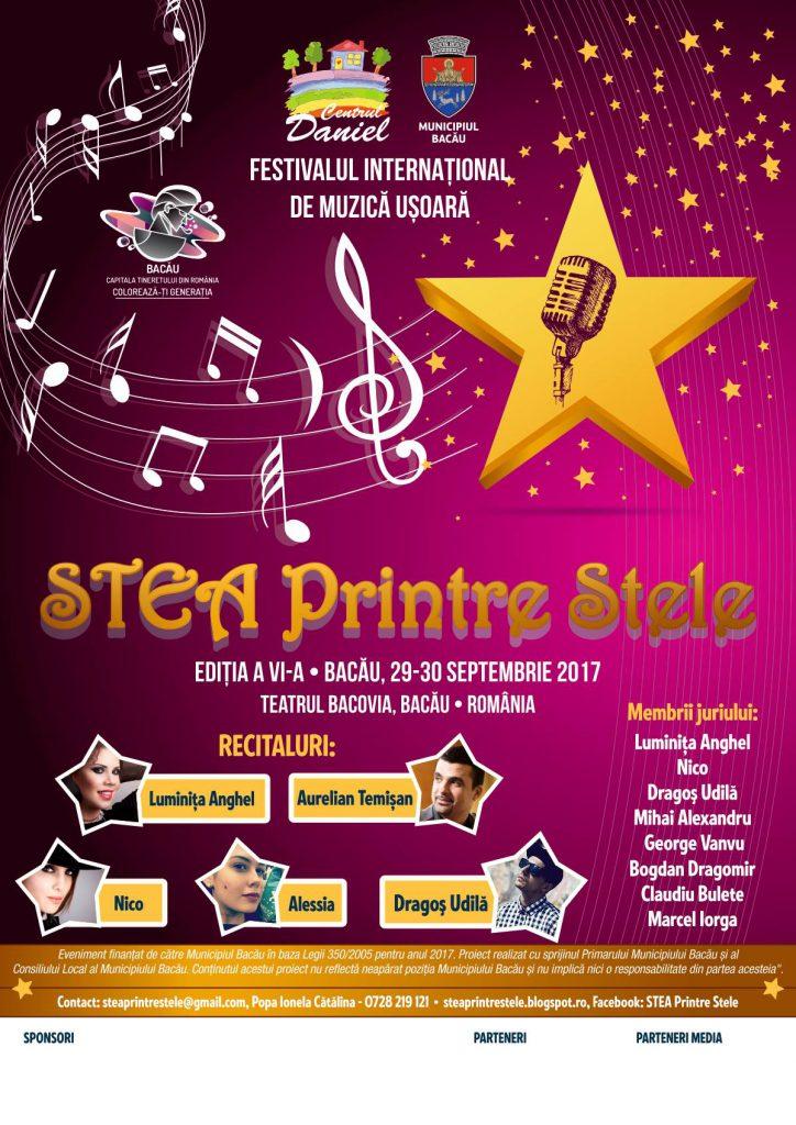 Poster Stea printre stele 2017 (foto Stea Printre Stele.facebook.com)