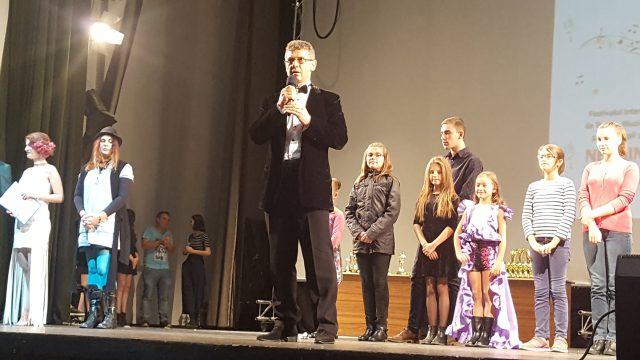 Ionel Tanasă - actor, regizor şi Preşedinte al Fundaţiei NEGHINIŢĂ, organizator al Festival. Neghiniţă 2017 (foto by Bogdan Dragomir)