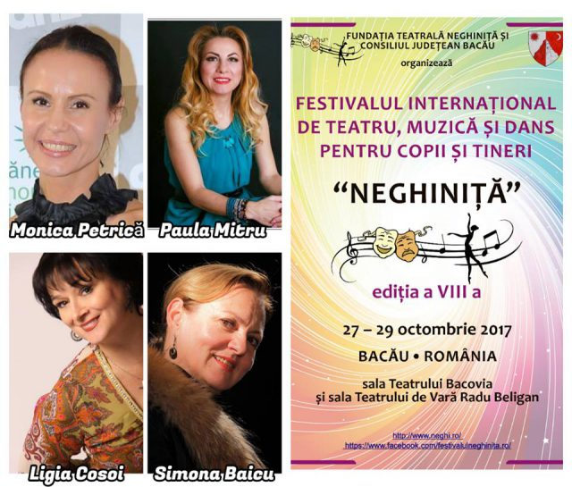 Juriul sectiunii Dans - Festiv. Neghinita - Bacau 2017 (foto arh.festiv.Neghinita.facebook.com)