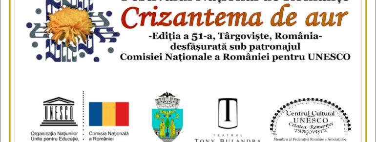 foto antet preselectii regionale Crizantema de Aur 2018 (crizantemaaur.ro)