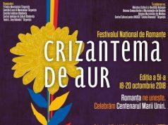 afis semnal Crizantema de aur 2018.1100 (foto www.romantaaur.ro)