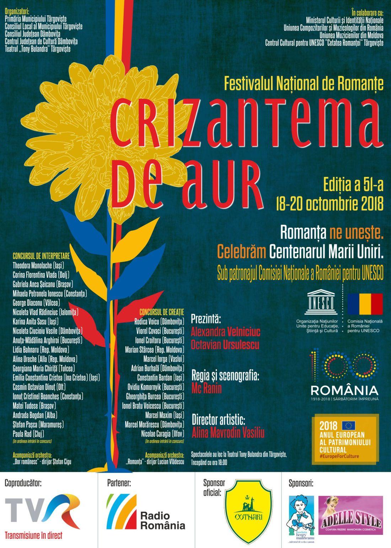 afis tehnic Crizantema de aur 2018-concurenti.1100 (foto www.romantaaur.ro)