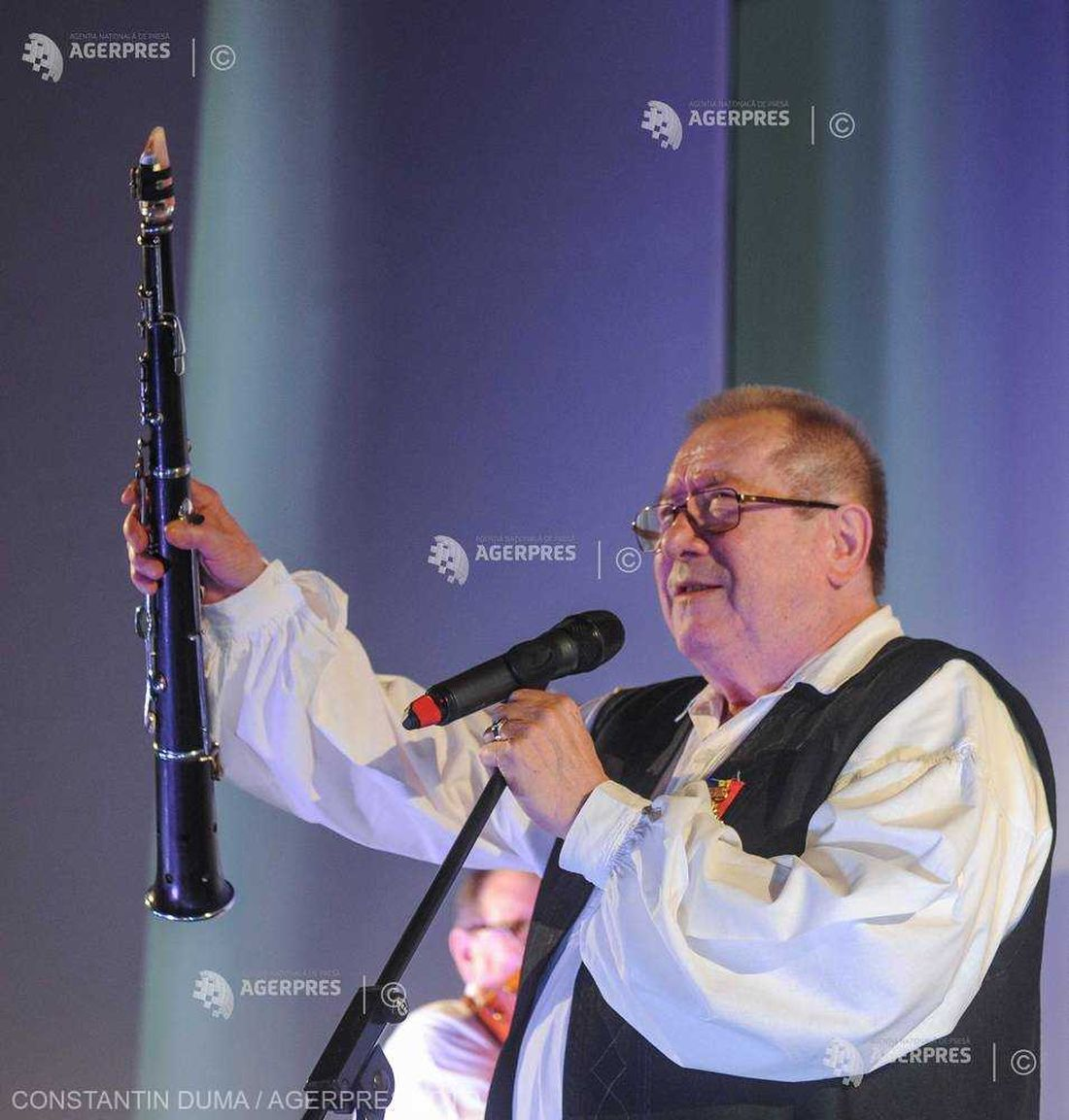 8149509 8149509 Dumitru Farcas la 80 de ani la Cluj-Napoca.1100 (foto credit AGERPRES by Constantin Duma)
