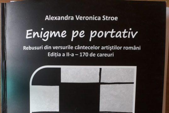 Enigme pe portativ de Alexandra Veronica Stroe (foto by cover de Bogdan Dragomir)