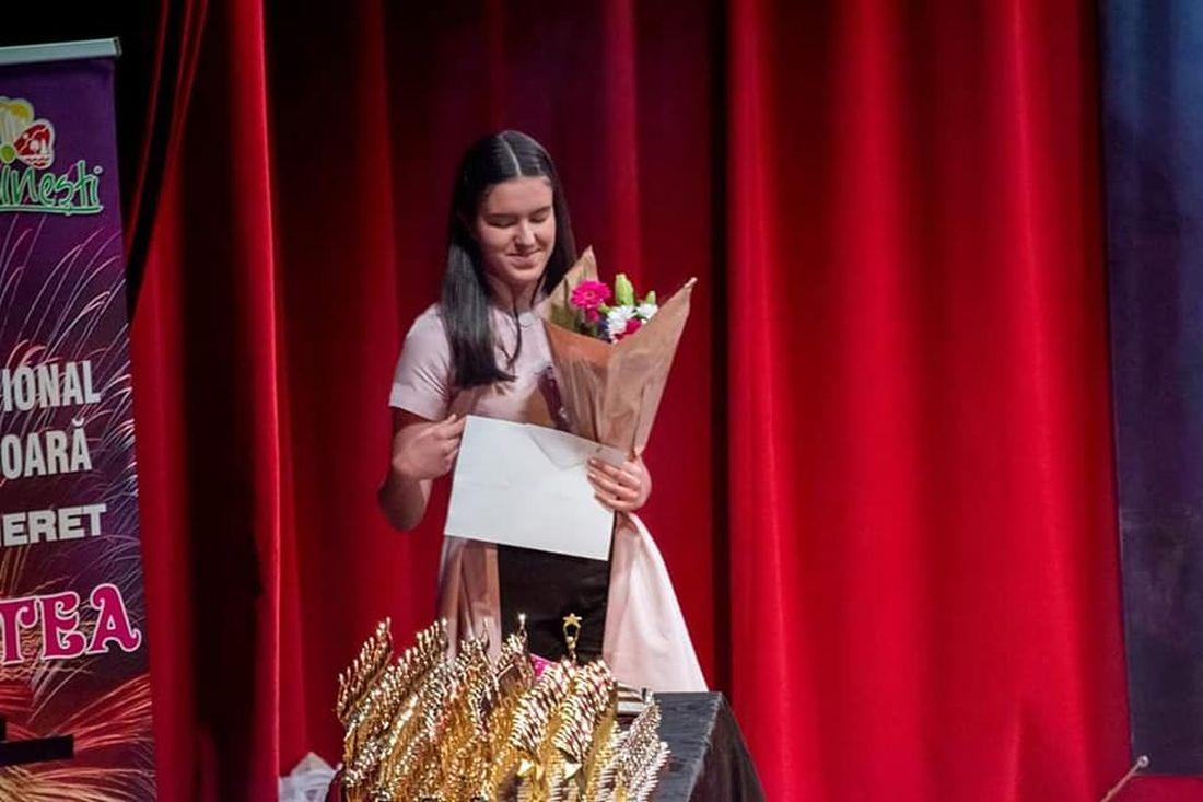 Foto Ina Rus - Trofeul Vis de Stea 2019 (Credit foto - Festiv. Vis de Stea)