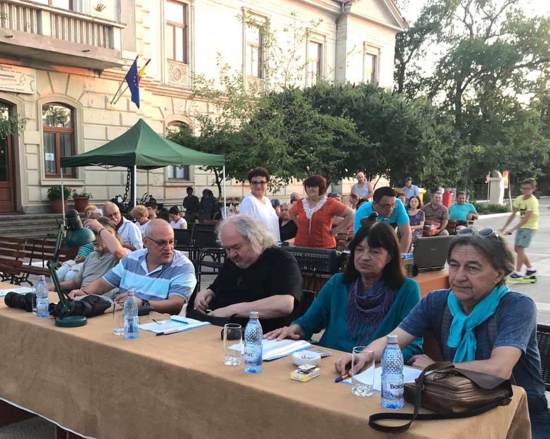 Juriul Festivalului Porto Franco 2019.1100 (foto arh. Paul Prisada)